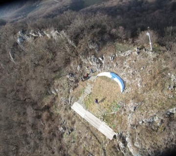 Paragliding West Take Off Kalnik